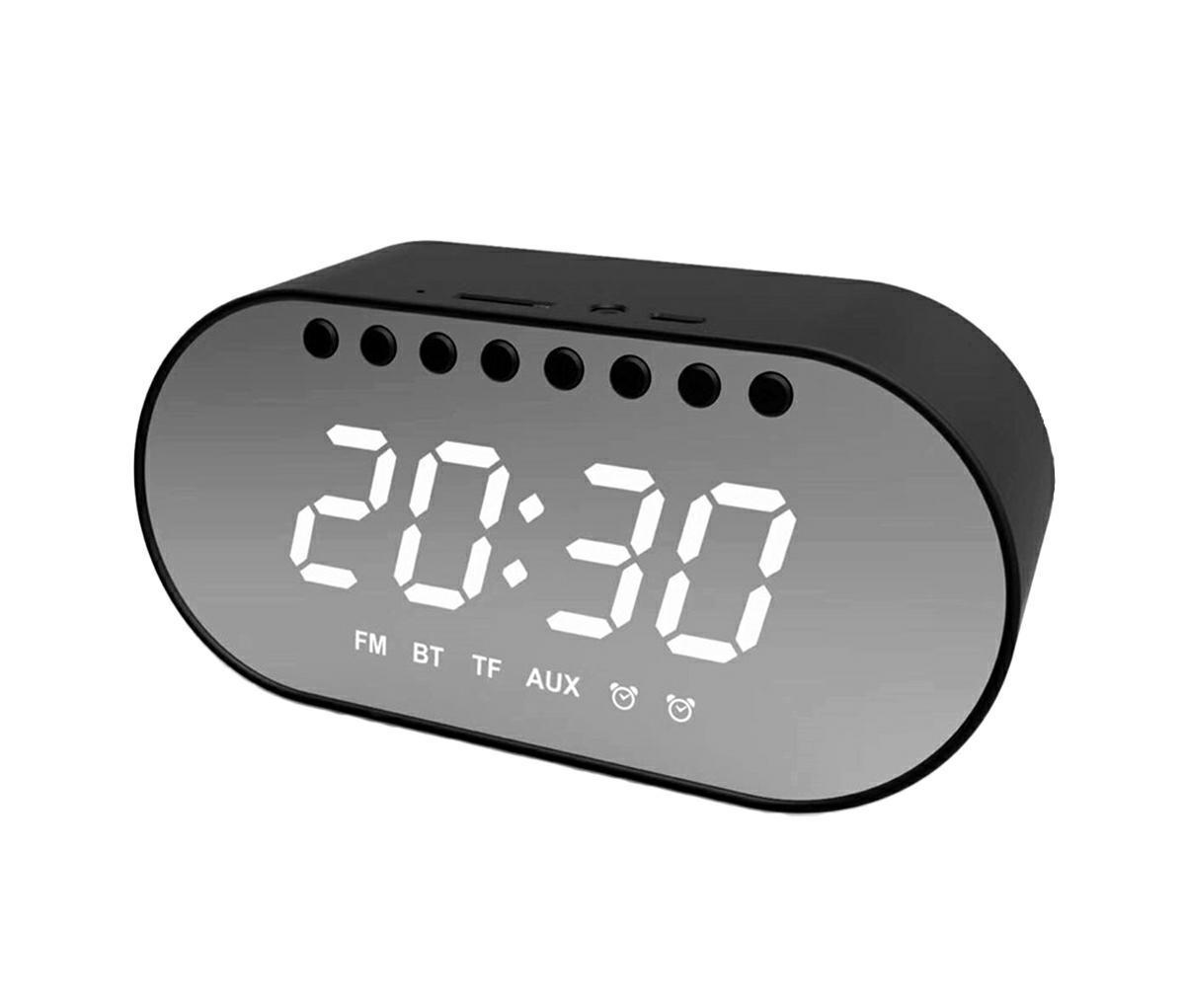 LED21 ZG19 LED digitální hodiny s budíkem a bluetooth reproduktorem